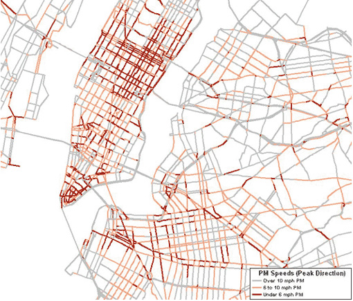 New York City Traffic Map Www Picsbud Com