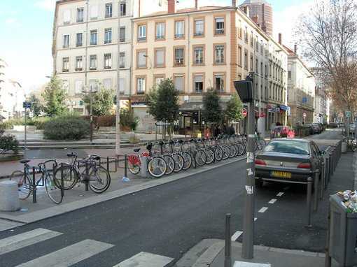Bike Sharing in Lyon, France