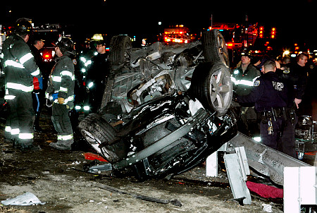 A 17-year-old driver killed two in this recent Queens crash.