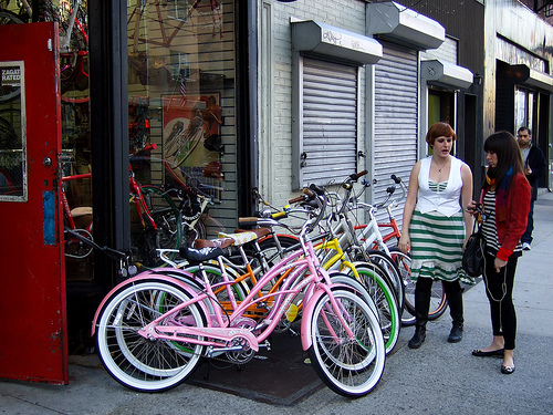 Bikes In Nyc at Bicycle Habitat in SoHo