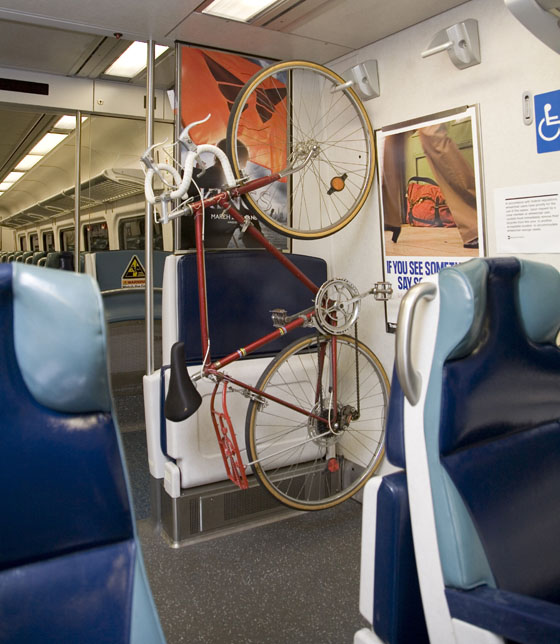 Bikes On Metro Rail The Metro North Railroad s M