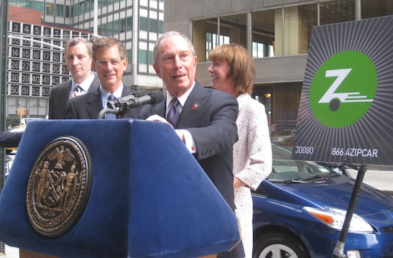 50 DOT Fleet Vehicles Replaced By 25 Zipcars