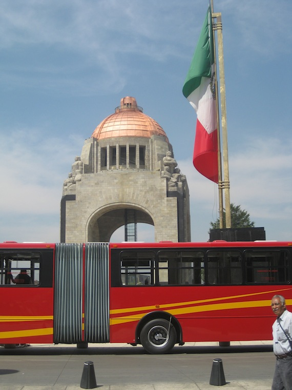BRT Imposes Order On Mexico City Streets, Speeding And