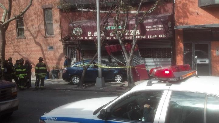 Car Crash Brooklyn Ny Today