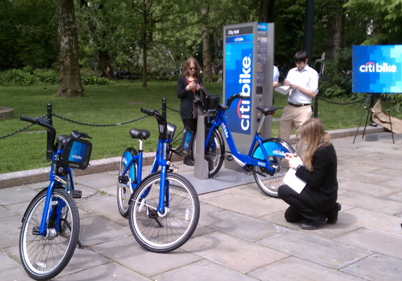 Citi Bikes In Nyc Citi Bikes It Is Citi to