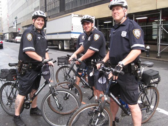Nypd Bike Patrol It S Officially A Trend Streetsblog