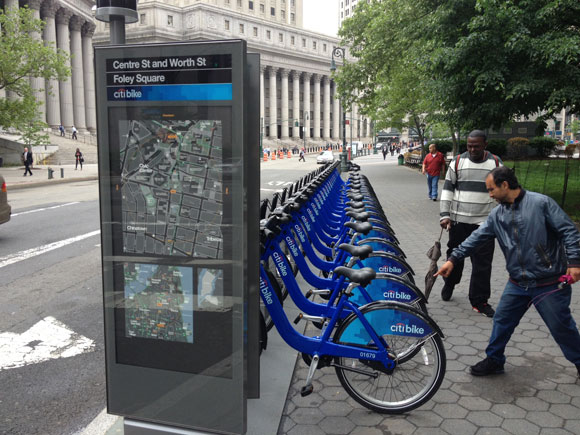 Citi Bikes Nyc Locations than bikes available
