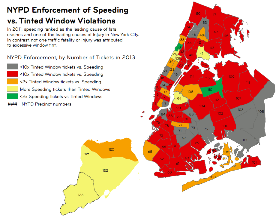 TA: NYPD Enforcement Priorities Don't Match Its Own Street Safety