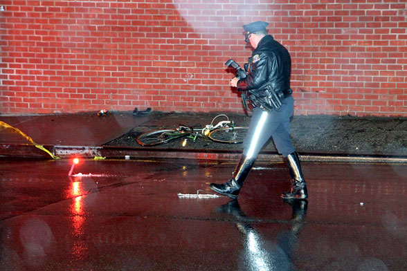 Pedro Lopez was killed on his bike by a hit-and-run driver in Maspeth. Photo: ##http://www.timesledger.com/stories/2013/48/bicyclistkilled_web_2013_11_28_q.html##Times Ledger##
