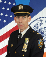 Deputy Inspector Michael A. Cody, commanding officer of the 115th Precinct. Photo: NYPD