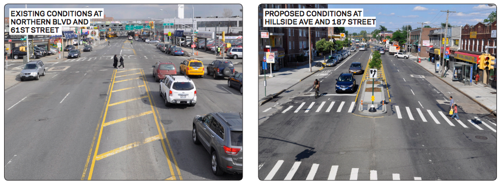 Vision Zero is coming to Northern Blvd. Image: Streetsblog
