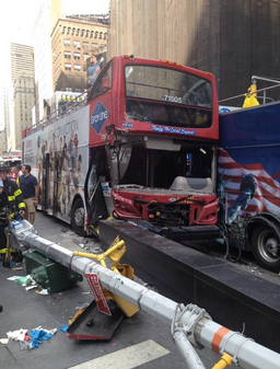 Manhattan District Attorney Cy Vance sees no evidence of recklessness here. Photo: ##https://twitter.com/FDNY/status/496750617613066240##@FDNY##