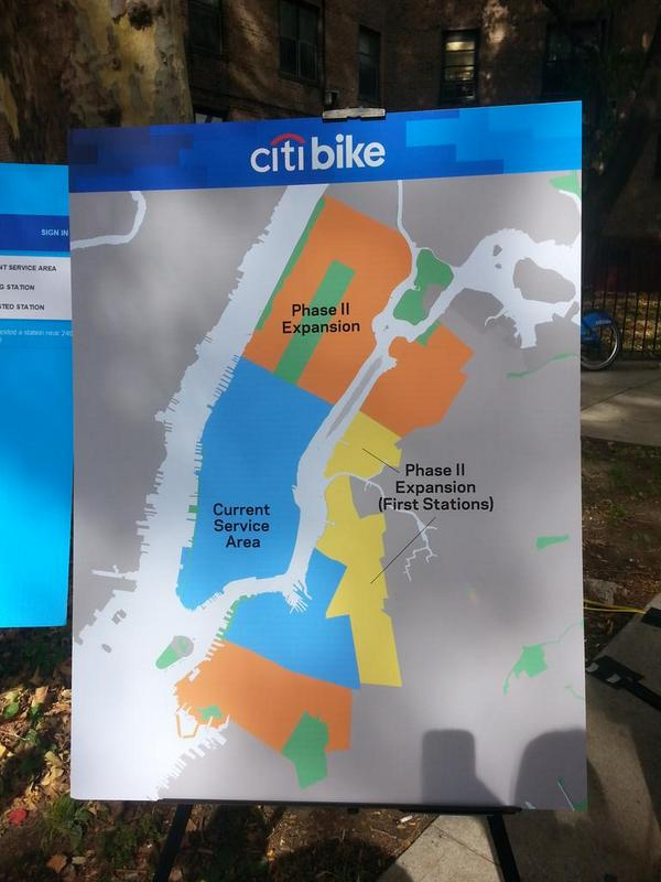 Bike Queens Ny citi bike map