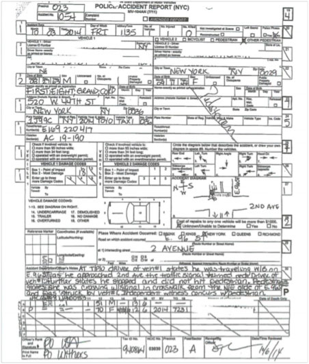 Car accident report form new mexico