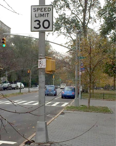 Riverside Drive is a neighborhood street where drivers routinely injure pedestrians and cyclists. Why is the city allowing motorists to drive faster there?