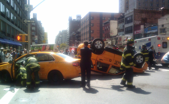 The TLC has no plans to require cab drivers to take a New York City road test. Photo: Trish Naudon-Thomas