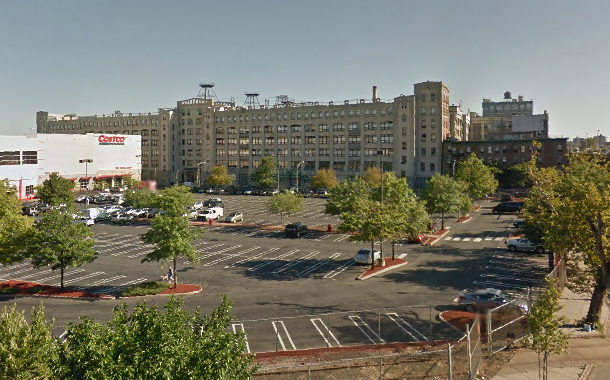 The owner of Industry City, in background, says Sunset Park needs more parking. Photo: Google Maps