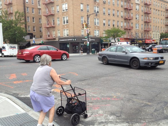 TSTC called on NYC to fully fund redesigns of the city's most dangerous streets, including Broadway in Manhattan. Photo: Brad Aaron