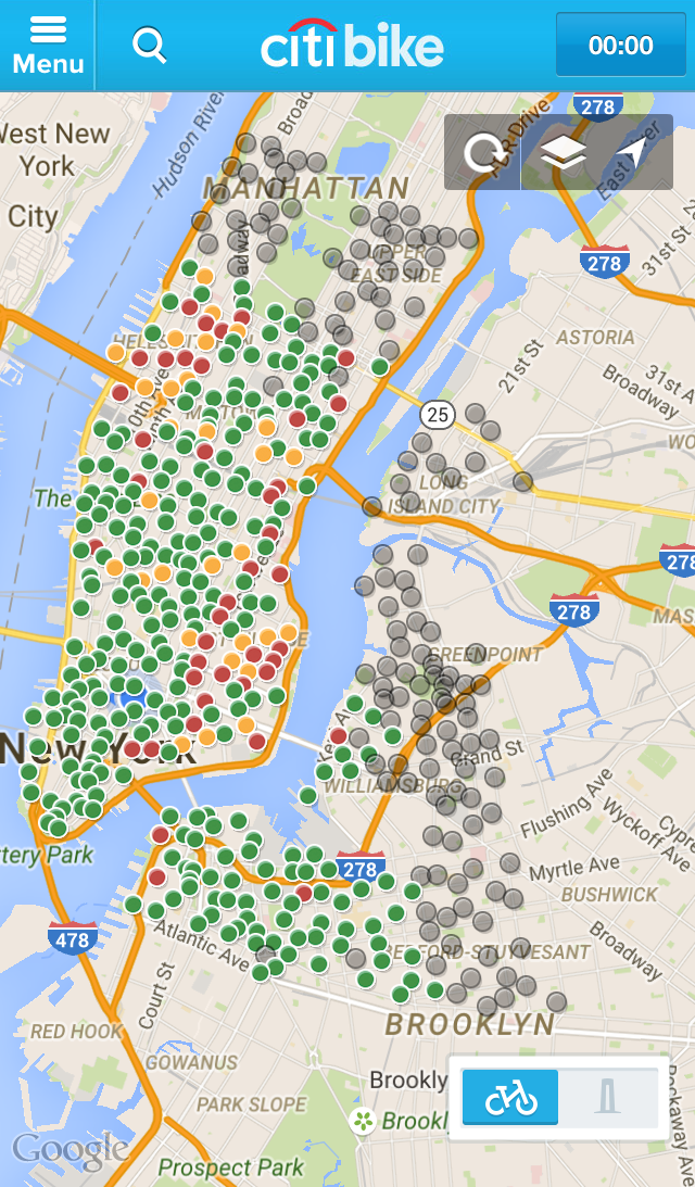 Citi Bike New York Map Citi Bike Map Now Shows Over 100 New Stations Coming Soon