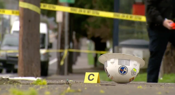 Still from Portland Police Bureau Vision Zero Video