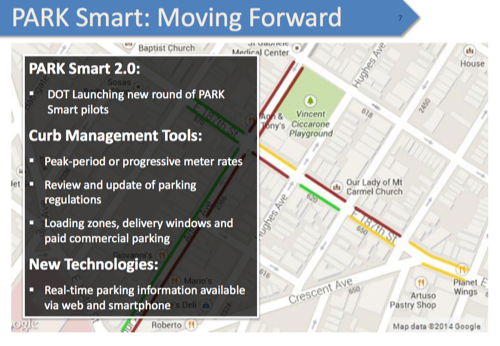 Where is PARK Smart 2.0? Image: DOT [PDF]