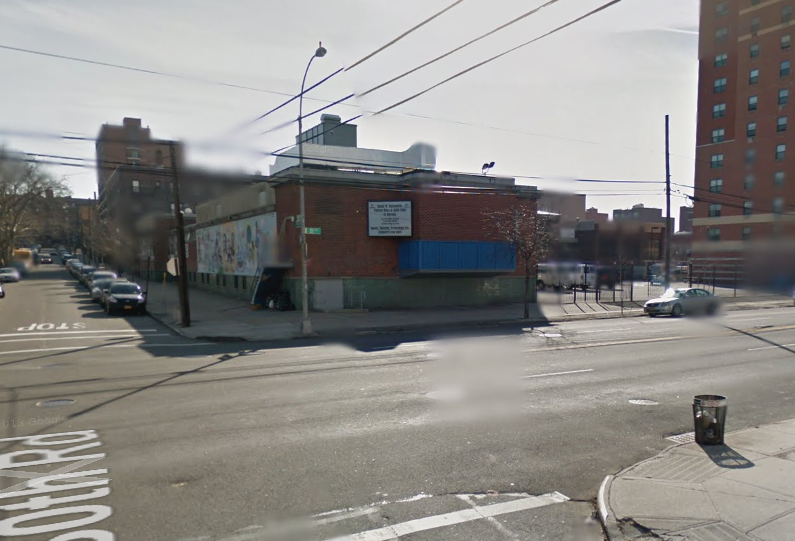 A hit-and-run driver killed a 45-year-old man earlier this month at this on 21st Street in Astoria, where advocates have been calling for traffic-calming for over two years. Image: Google Maps