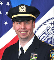 78th Precinct Commanding Officer Deputy Inspector Frank DiGiacomo.