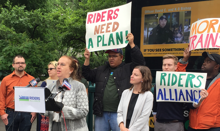 Manhattan Borough President Gale Brewer wants bus-only lanes on 14th Street. Photo: David Meyer