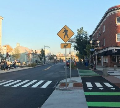 More Space for Pedestrians and Bikes in Somerville